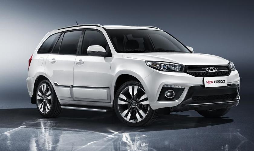 Купить Chery Tiggo 3 NEW LUXURY CVT 2018 в кредит